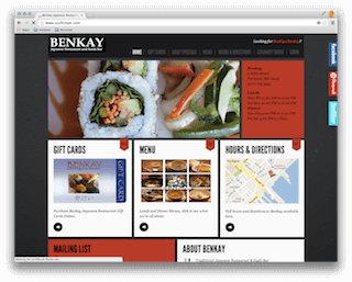 Benkay Japanese Restaurant and Sushi Bar (2012 Relaunch)