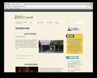 DineInPortland.com (relaunch)